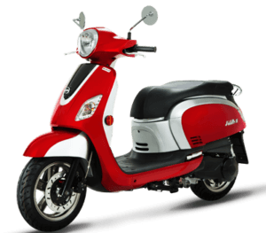 SYM Classic 200i Red Silver
