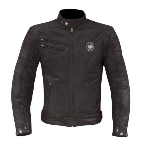 Merlin Alton Leather Jacket Black
