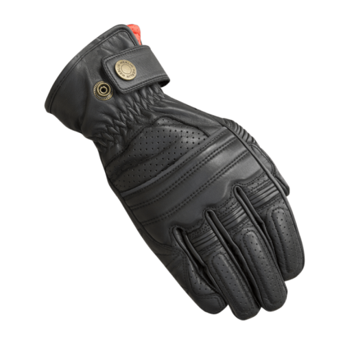 Merlin Bickford Leather Gloves Black
