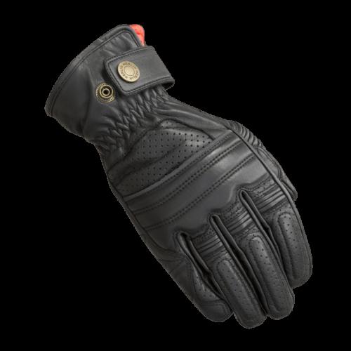 Merlin Bickford Leather Gloves Black
