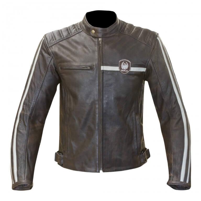 Merlin Derrington Leather Jacket