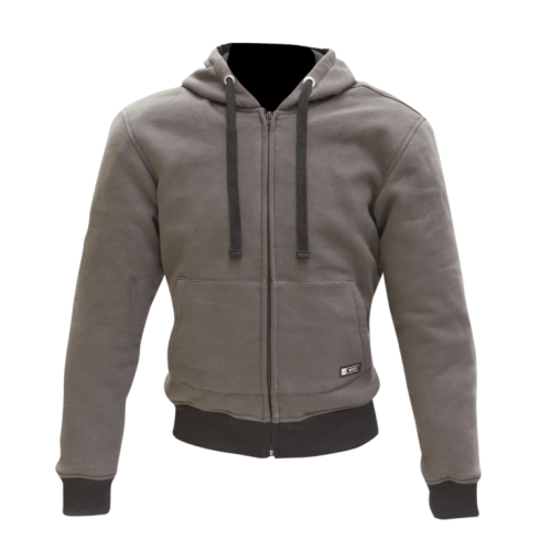 Merlin Hamlin Zip Up Hoody Grey
