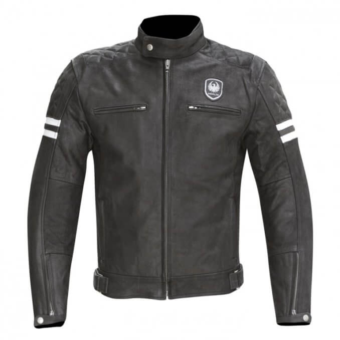 Merlin Hixon Leather Jacket Black