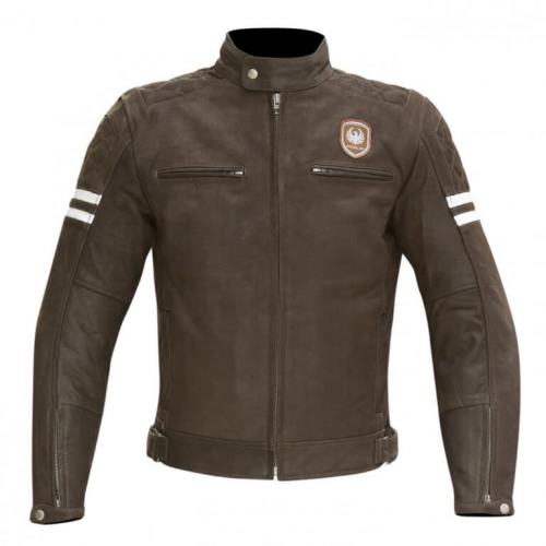Merlin Hixon Leather Jacket Brown