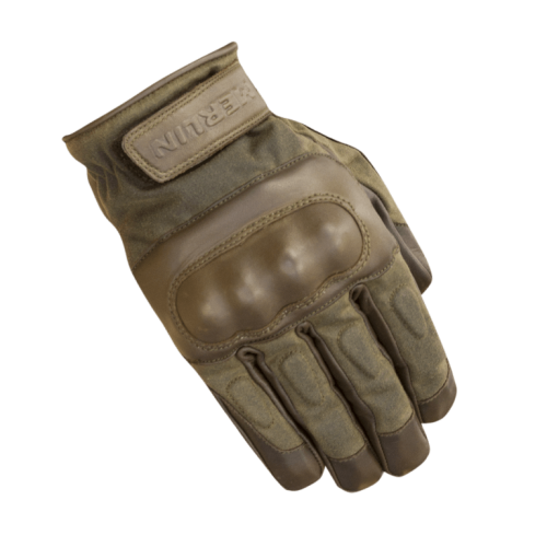 Merlin Ranton Waxed Cotton Gloves Brown