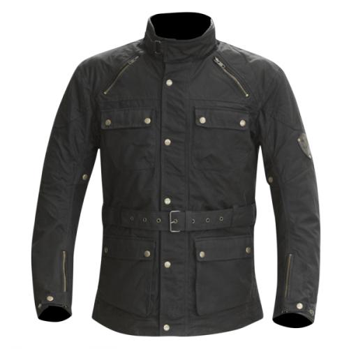 Merlin Rowan Wax Jacket Black