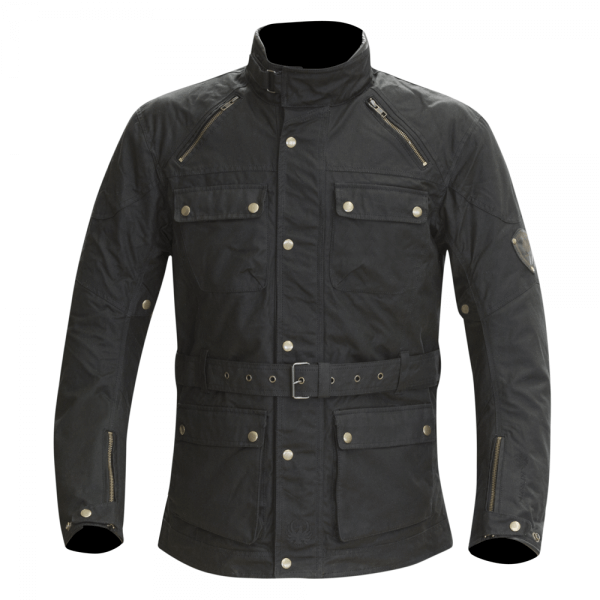 Merlin Rowan Wax Jacket Black