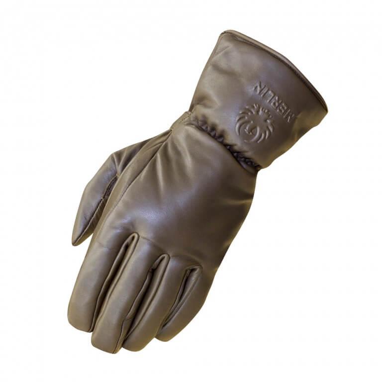 Merlin Stone Waterproof Gloves Brown