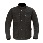 Merlin Yoxall Wax Jacket Black