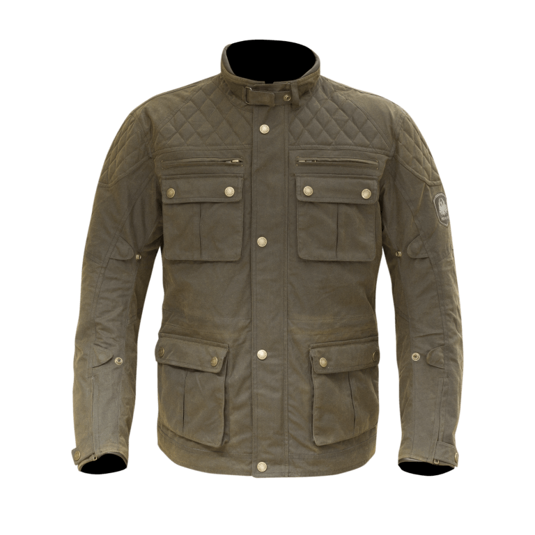 Merlin Yoxall Wax Jacket Brown