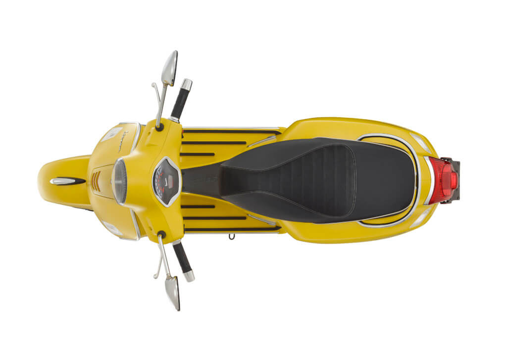 Vespa GTS 300 Super Sport ABS ASR e4 Gialla Matt