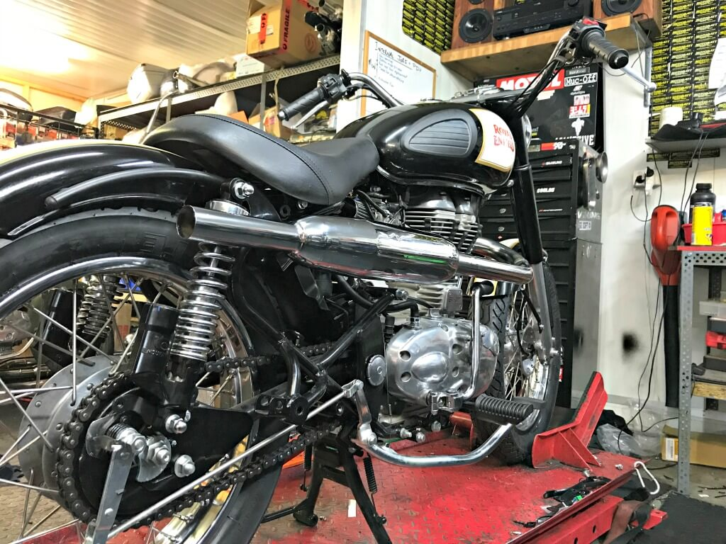 Royal Enfield Custom Bike Build Off 2017