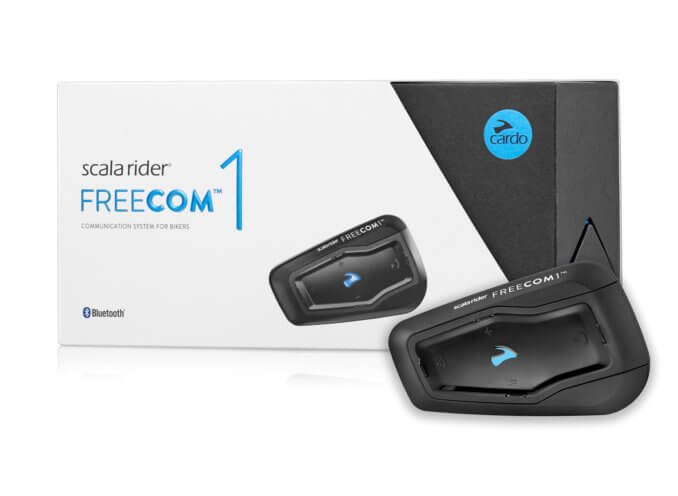 Scala Rider FREECOM 1 Single Bluetooth® Communication System