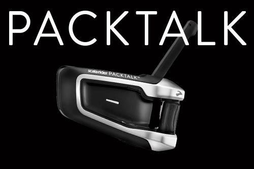 Scala Rider PACKTALK Bluetooth® Communication System