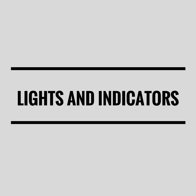 Lights & Indicators