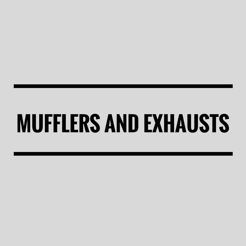 Mufflers & Exhausts