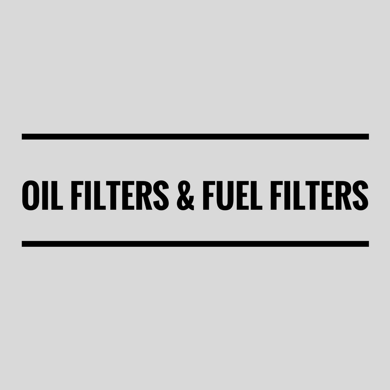 Oil Filters and Fuel Filters