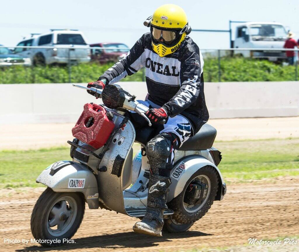 Scott at Dust Hustle 5. Photo by Motorcycle Pics.