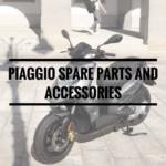 Piaggio Spare Parts and Accessories