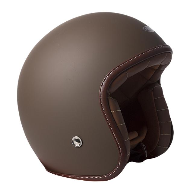 RXT A611C Classic Open Face Helmet Matte Dark Brown