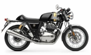 Royal Enfield Continental GT 650cc Black Gold