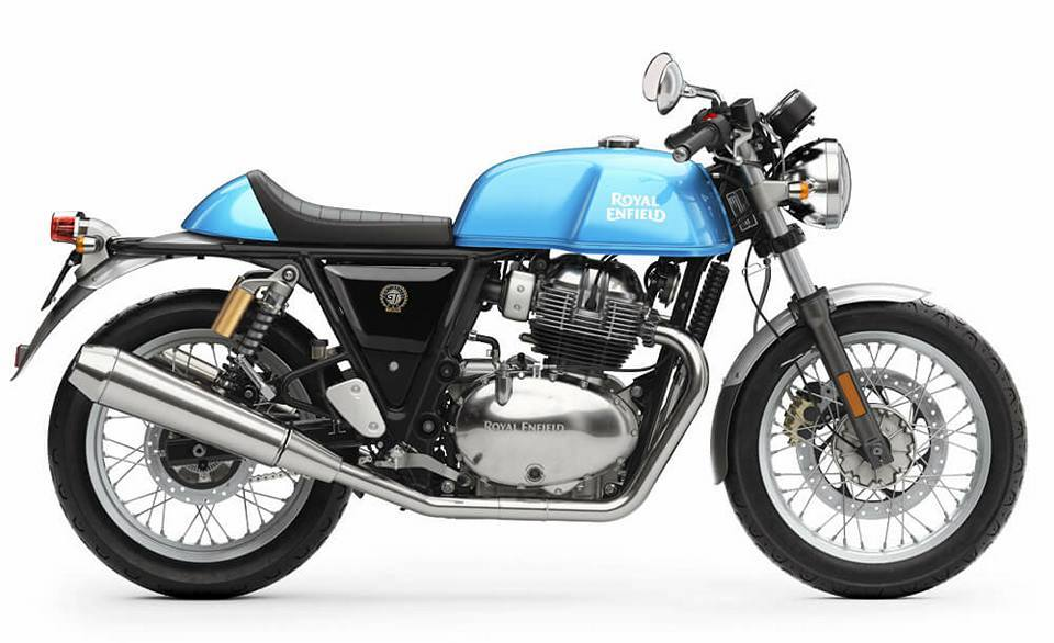 Royal Enfield Continental GT 650cc Blue