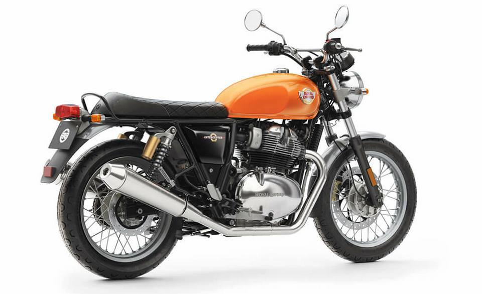 Royal Enfield Interceptor 650cc Gold
