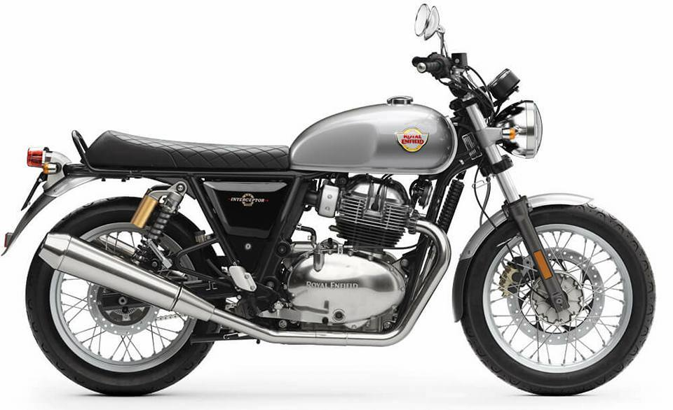 Royal Enfield Interceptor 650cc Silver