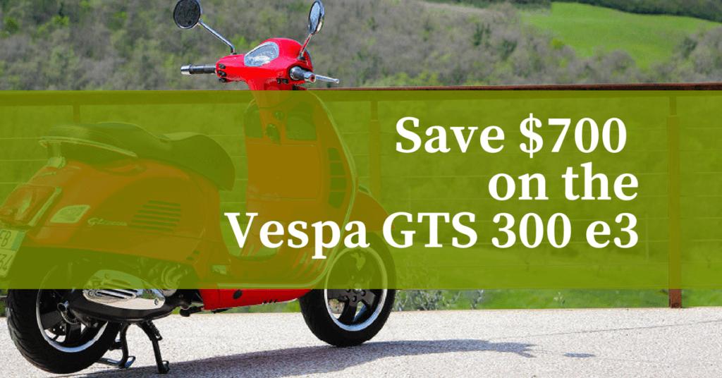 Save $700 on the Vespa GTS 300 e3 1200x628