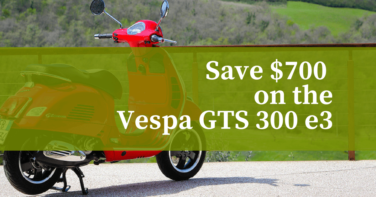 Save $700 on the Vespa GTS 300 e3 1200x628