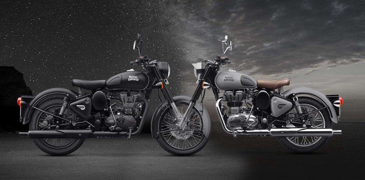 Celebrate the Dark | Royal Enfield Classic 500 Matte Finish