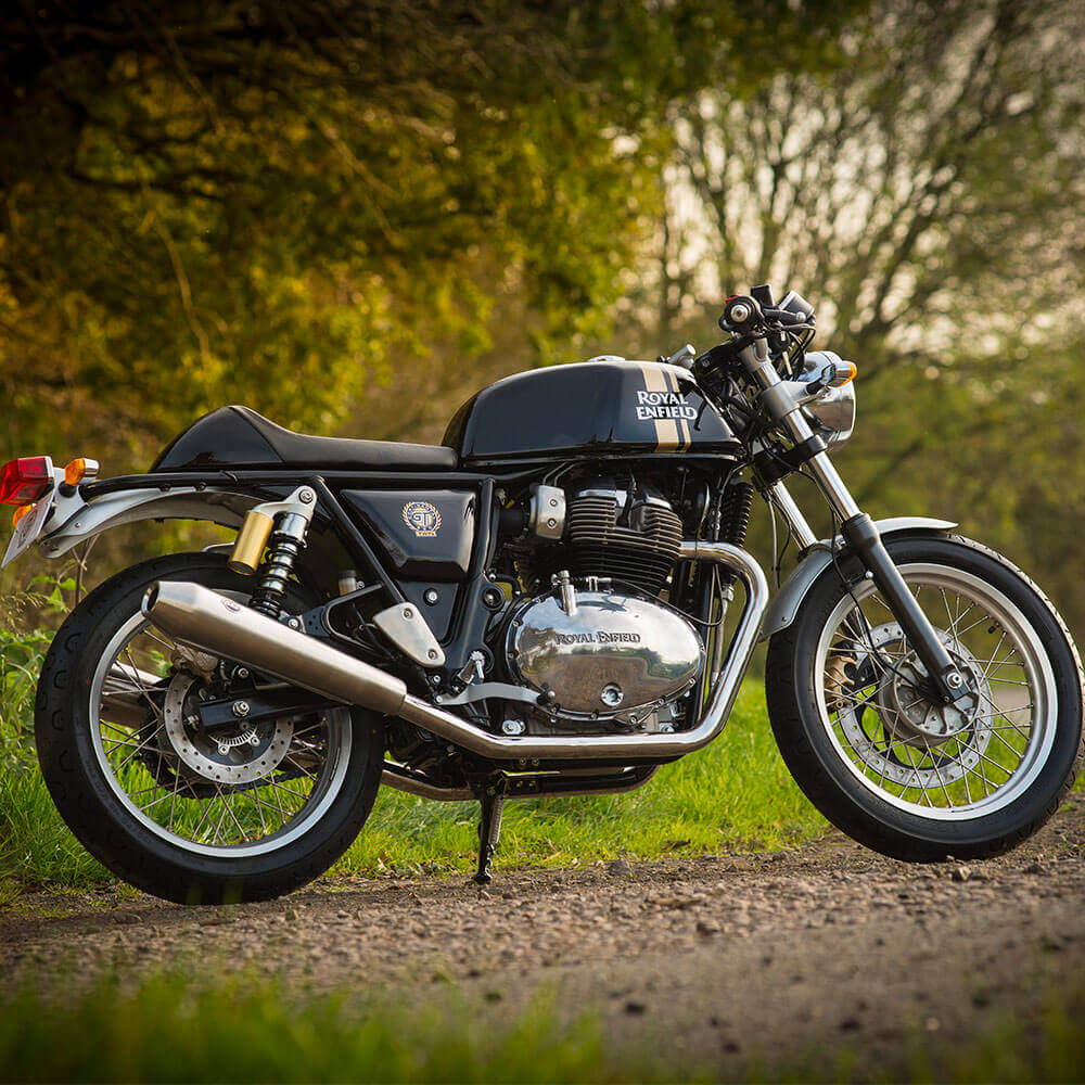 Royal Enfield Continential GT 650cc Black Gold Lifestyle