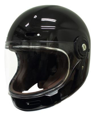 Scorpion Vintage Helmet Gloss Black