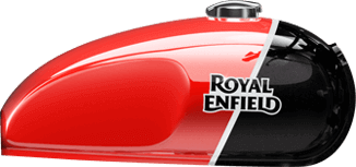 Royal Enfield Interceptor 650cc Black Red