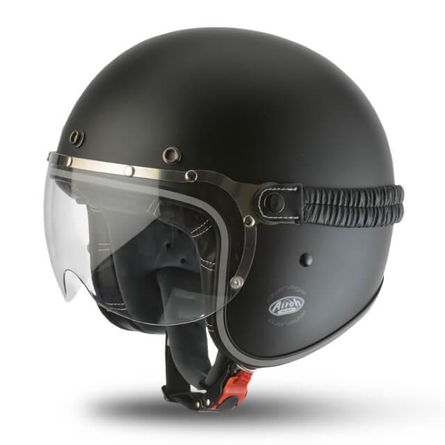 Airoh Garage Matt Black Helmet