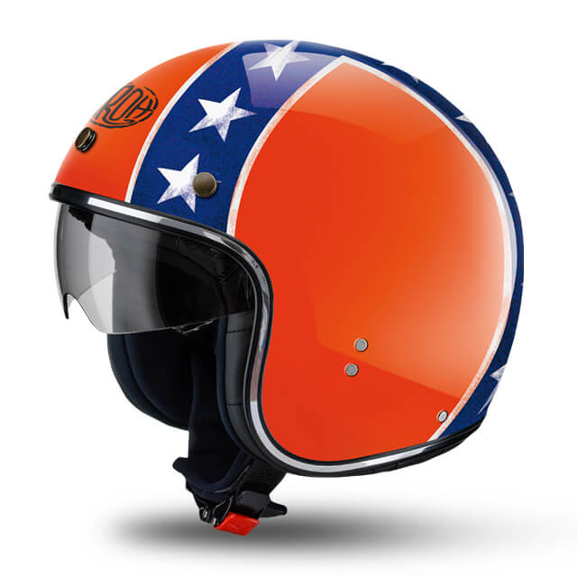 Airoh Riot General Orange Helmet