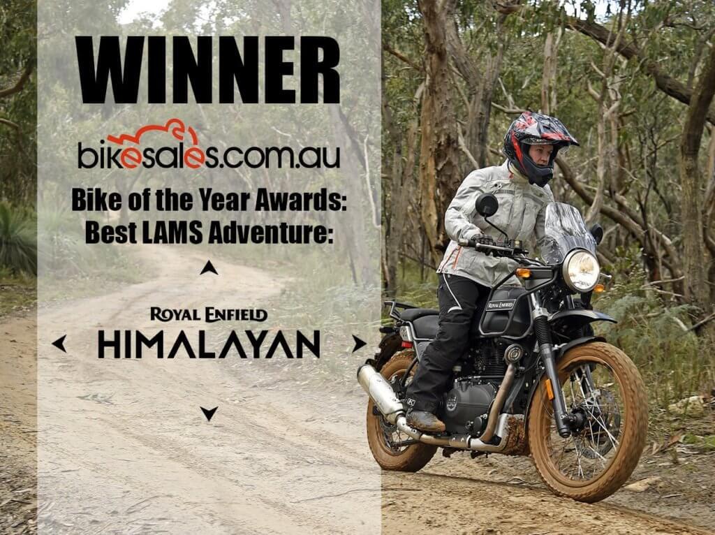 Himalayan Wins 2017 Best LAMS Adventure Bikesales