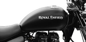 Royal Enfield Rumbler 350 Stone Matt Black