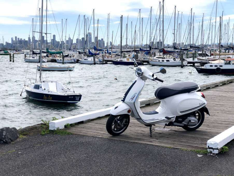 Vespa Primavera 150 Yacht Club Limited Edition Scooter Style Noosa