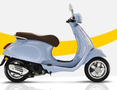 New Vespa Primavera 50 4T EFI