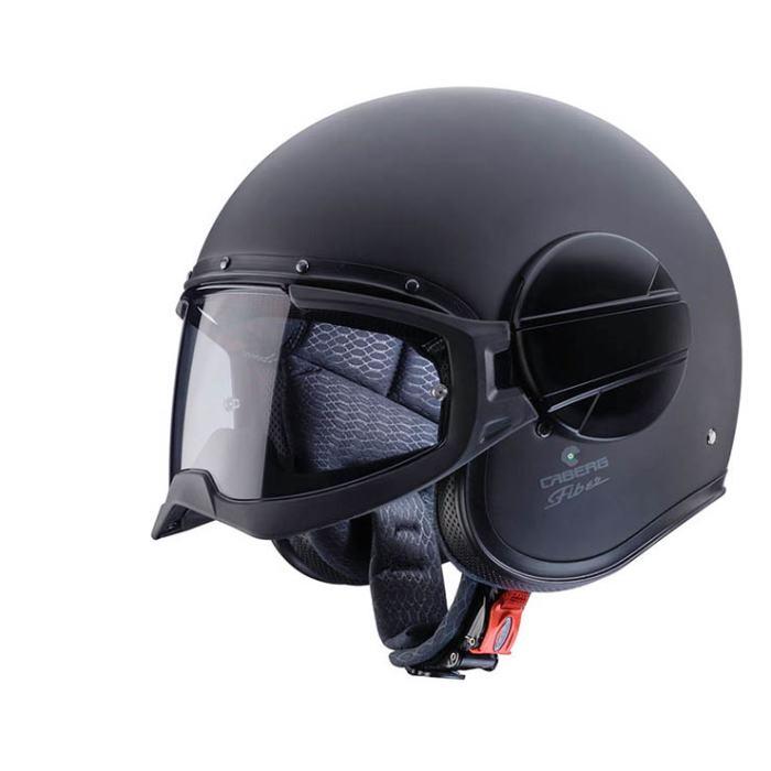 CABERG Ghost Matt Black Helmet