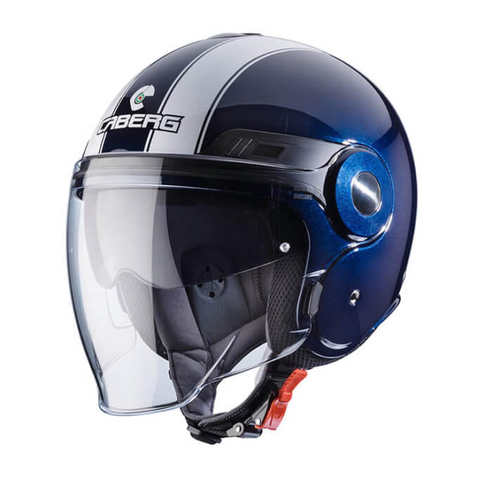 CABERG Uptown Legend Midnight Blue White Helmet