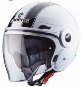 CABERG Uptown Legend White Black Helmet