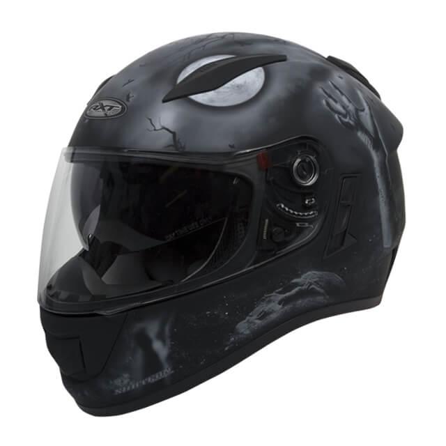 RXT Evo Crypt Helmet Black Grey