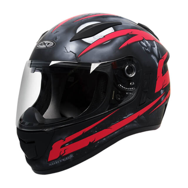 RXT Evo Crypt Helmet Black Red