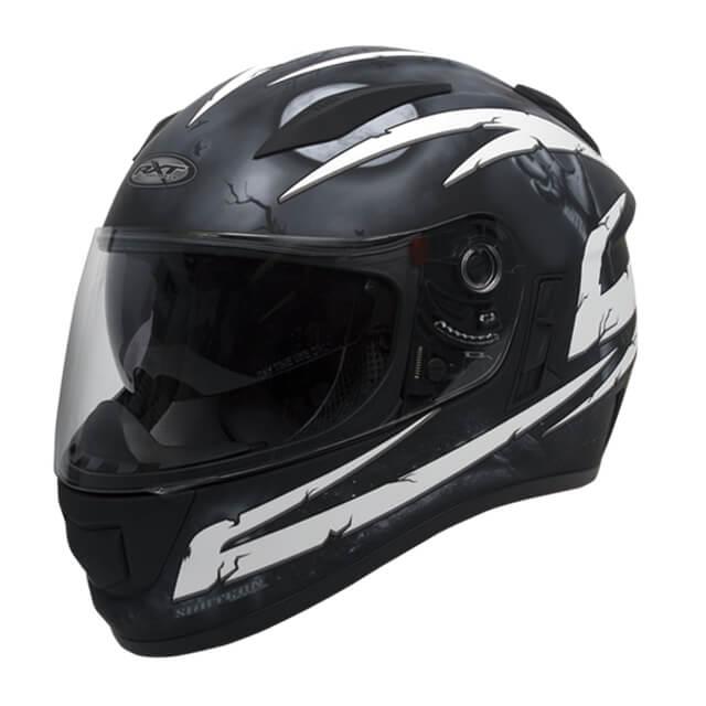 RXT Evo Crypt Helmet Black White
