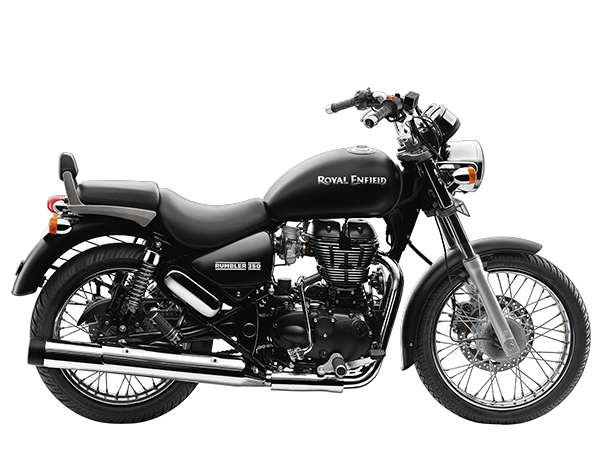 Royal Enfield Rumbler 350 Stone Matt Black