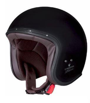 CABERG Jet Free Ride Matt Black Helmet