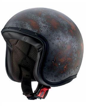 CABERG Jet Free Ride Rusty Black Helmet