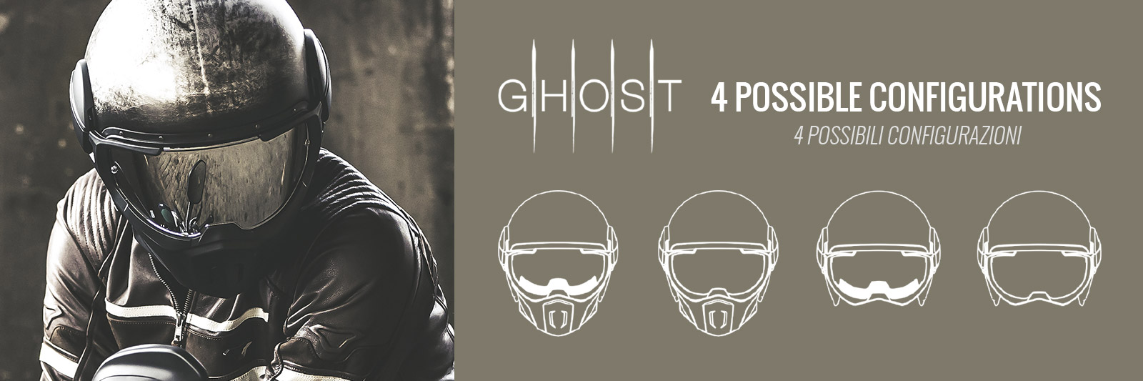 CABERG Ghost Helmets